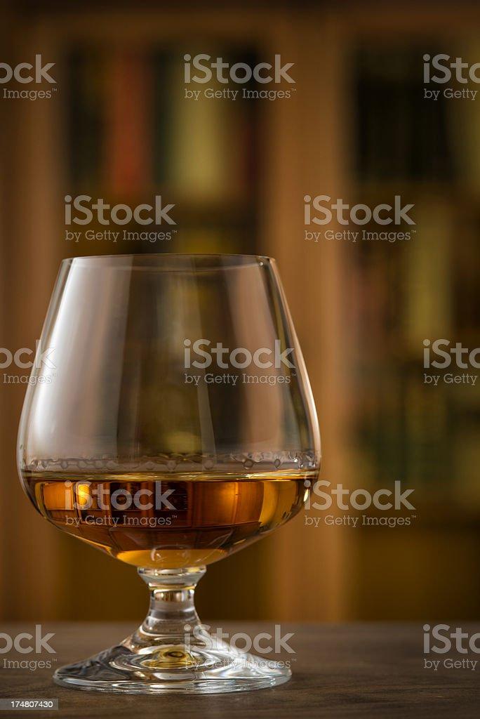 Glass, Brandy, Cognac, Snifter royalty-free stock photo