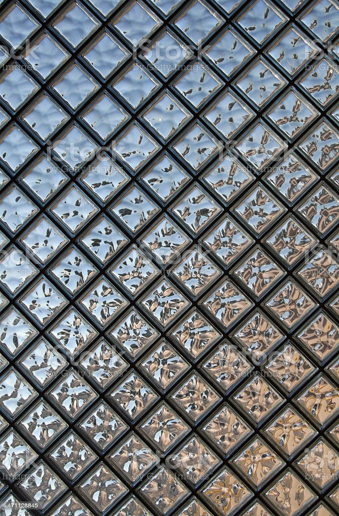 Glass Bricks royalty-free stock photo