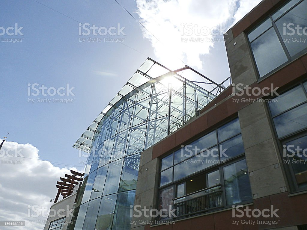 Glass Building City Centre royalty-free stock photo