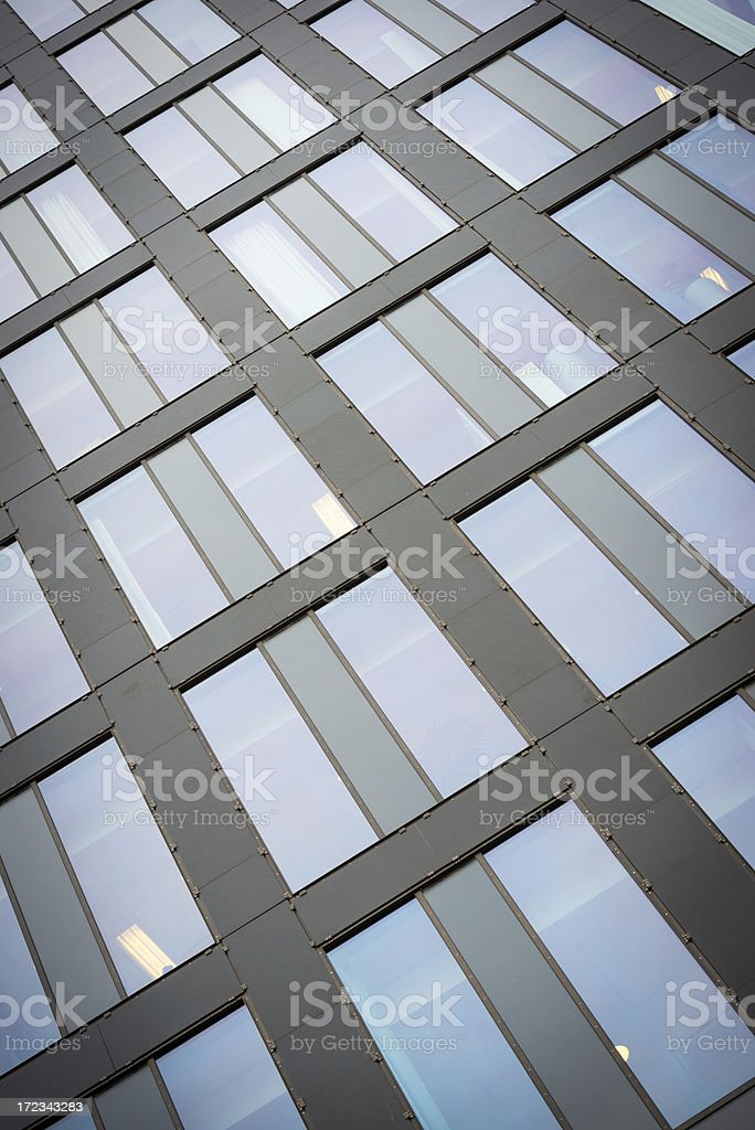 Glass Building Pattern royalty-free stock photo