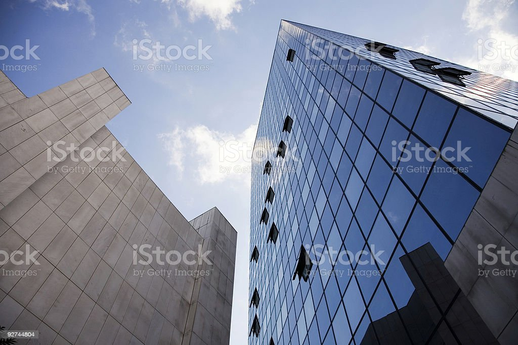 glass building royalty-free stock photo