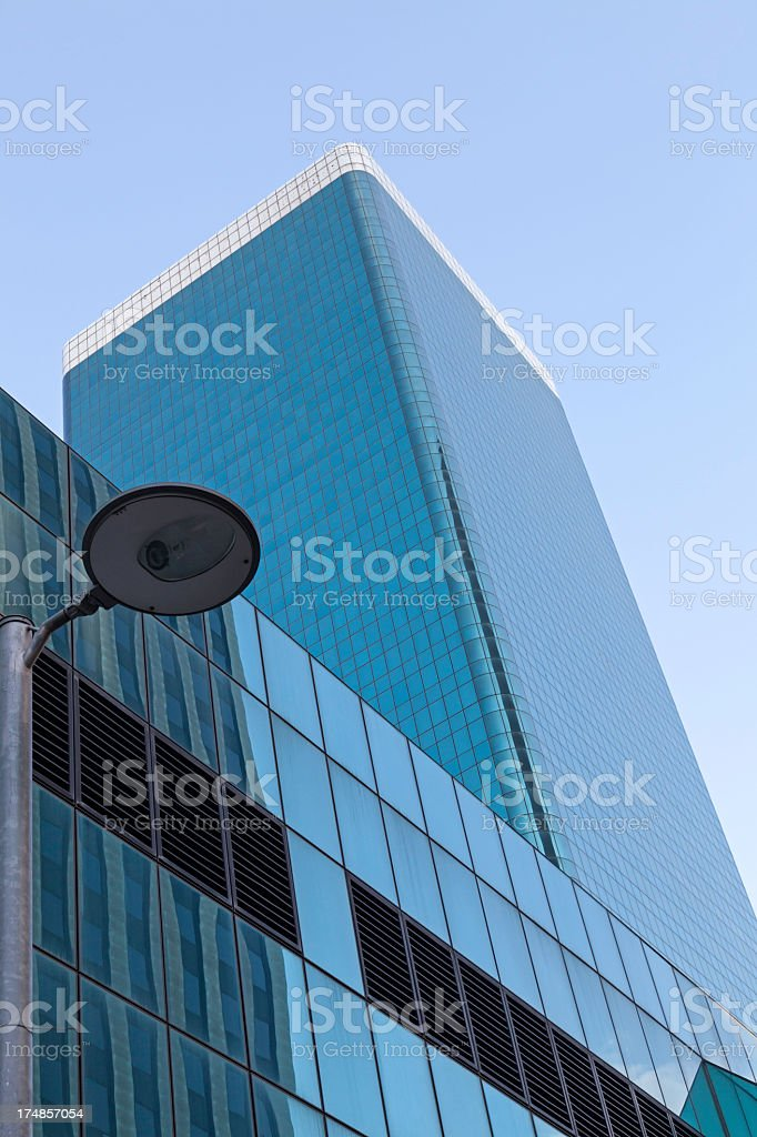Glass Building Skyscraper in Johannesburg royalty-free stock photo