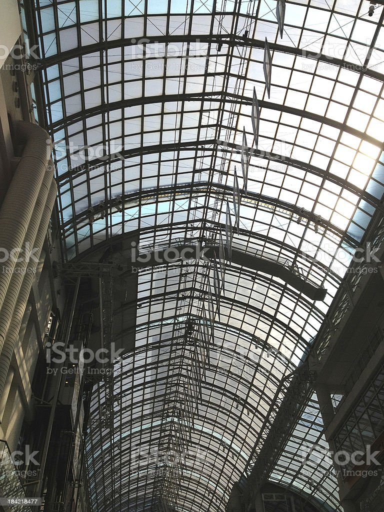 Glass Ceiling Close-Up royalty-free stock photo