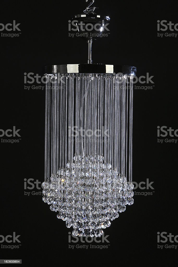 Glass Chandelier royalty-free stock photo