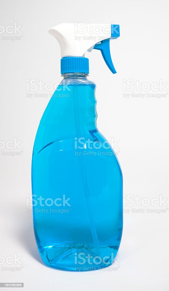 Glass Cleaner stock photo
