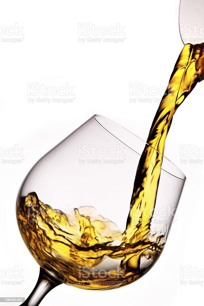 Glass cognac royalty-free stock photo