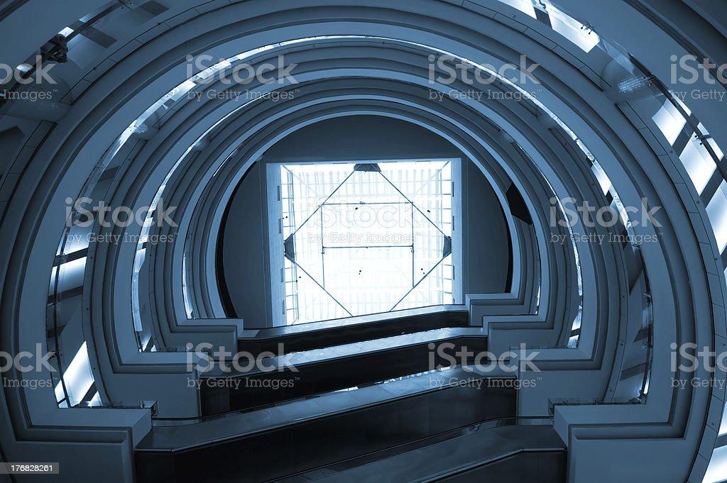Glass construction royalty-free stock photo