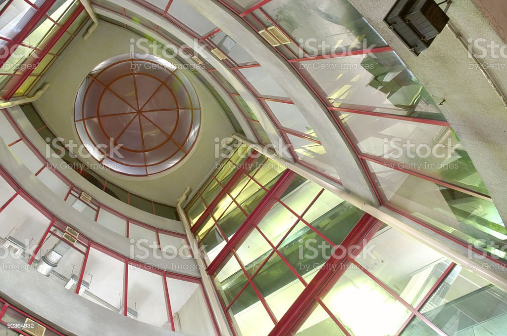Glass construction royalty-free stock photo