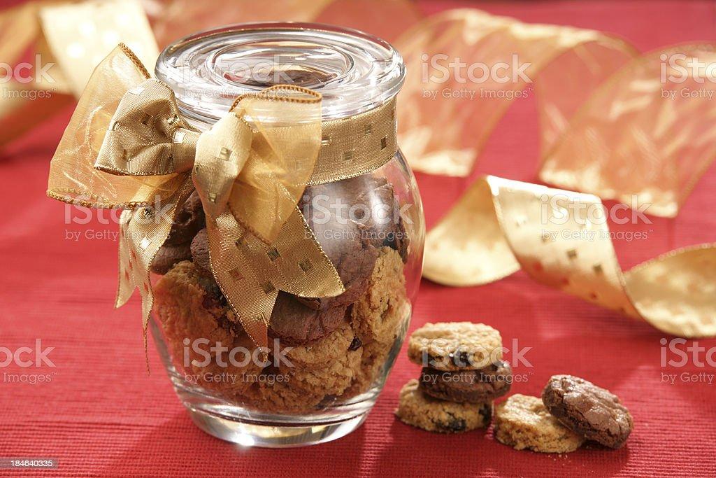 Glass Cookie Jar royalty-free stock photo