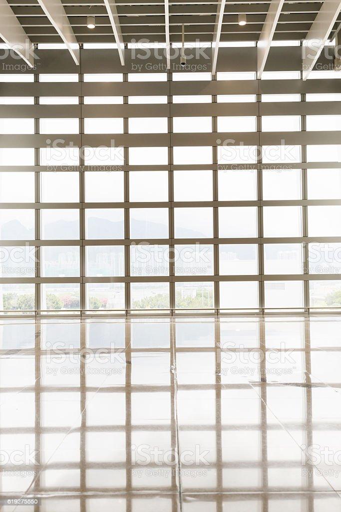 glass curtain wall stock photo