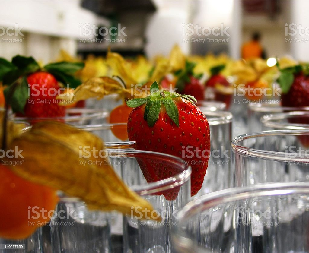 Glass decorations royalty-free stock photo