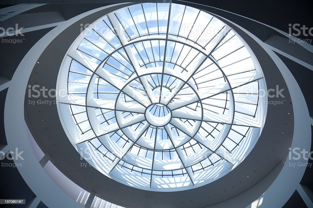 Glass dome royalty-free stock photo