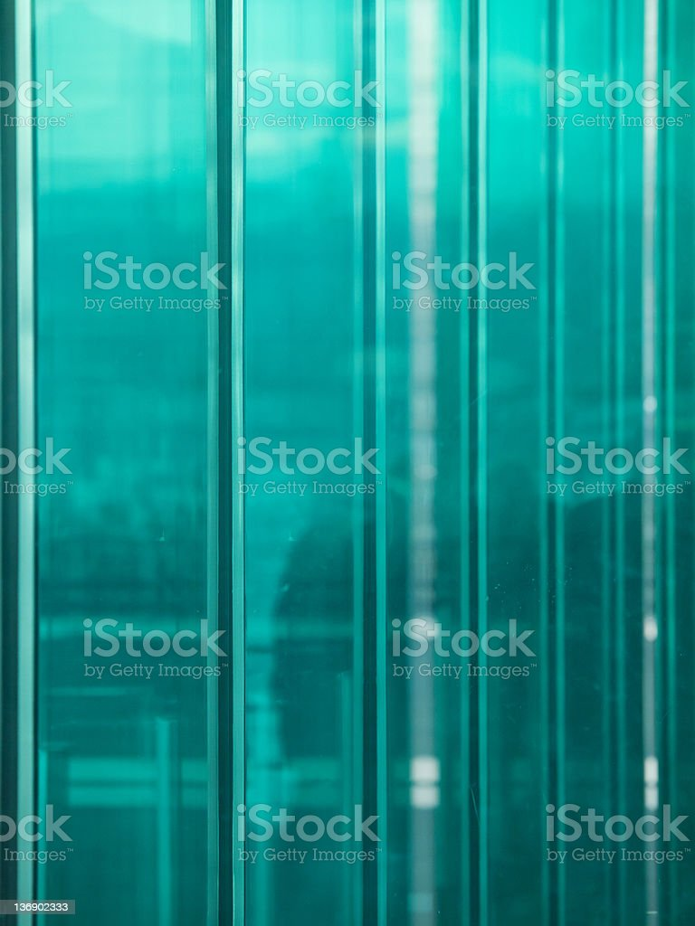 Glass elements stock photo