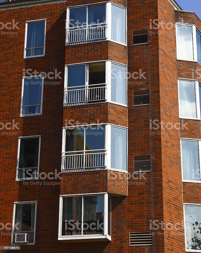 Glass Enclosed Patios royalty-free stock photo