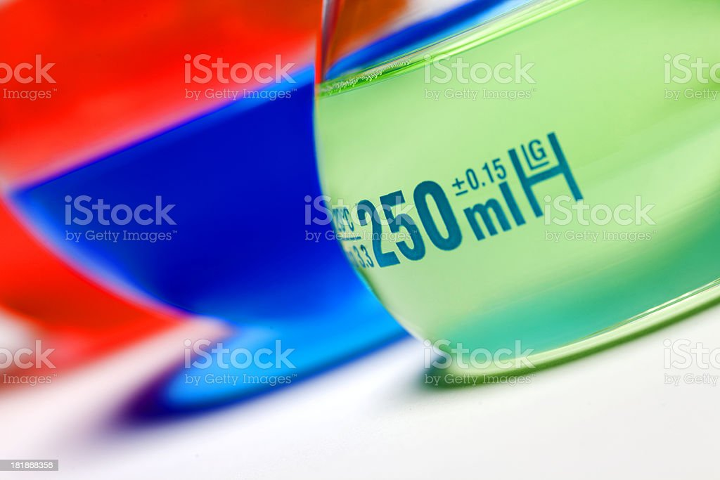 Glass equipment royalty-free stock photo