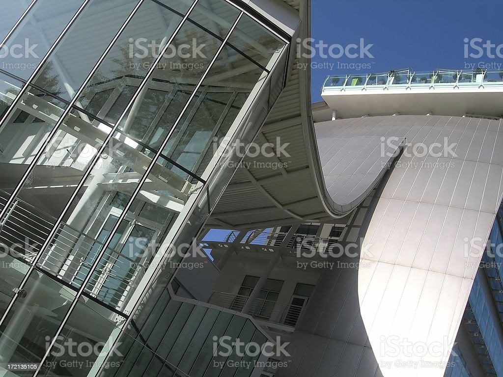 Glass Facade 03 stock photo
