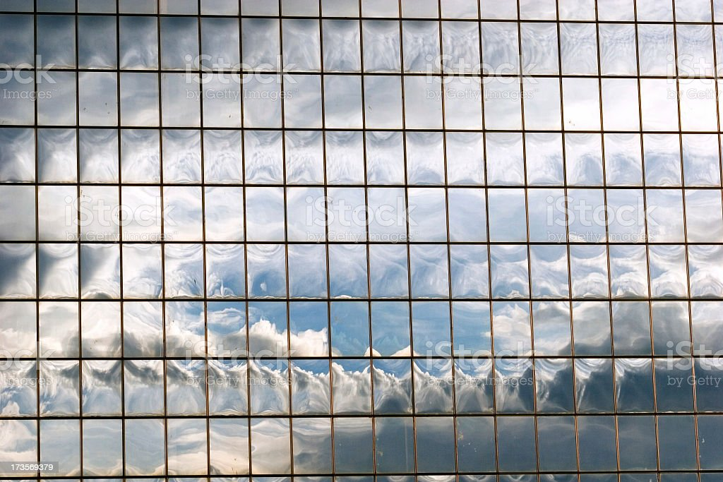 glass facade royalty-free stock photo