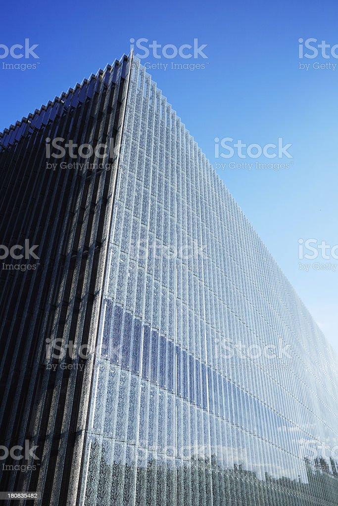 Glass facade royalty-free stock photo