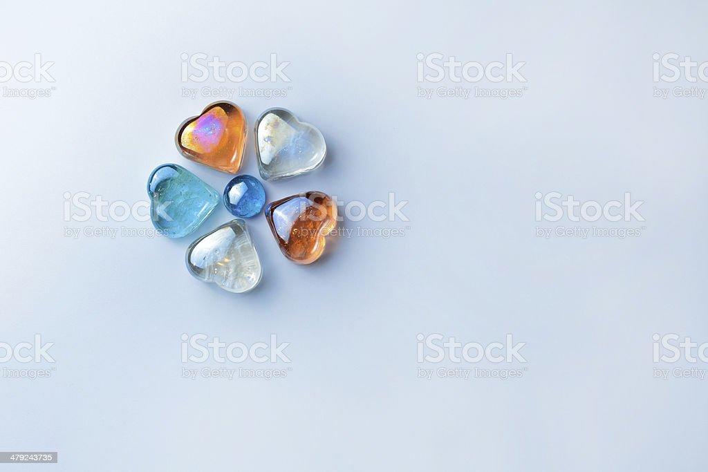 glass flower stock photo