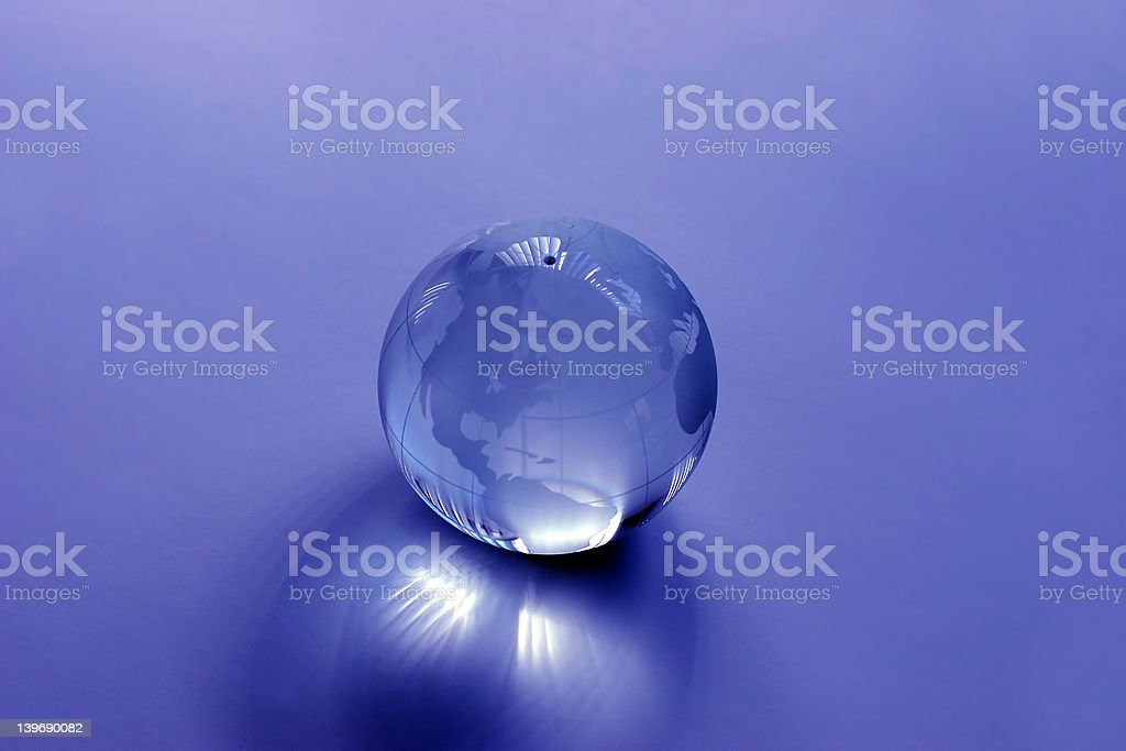 Glass Globe royalty-free stock photo