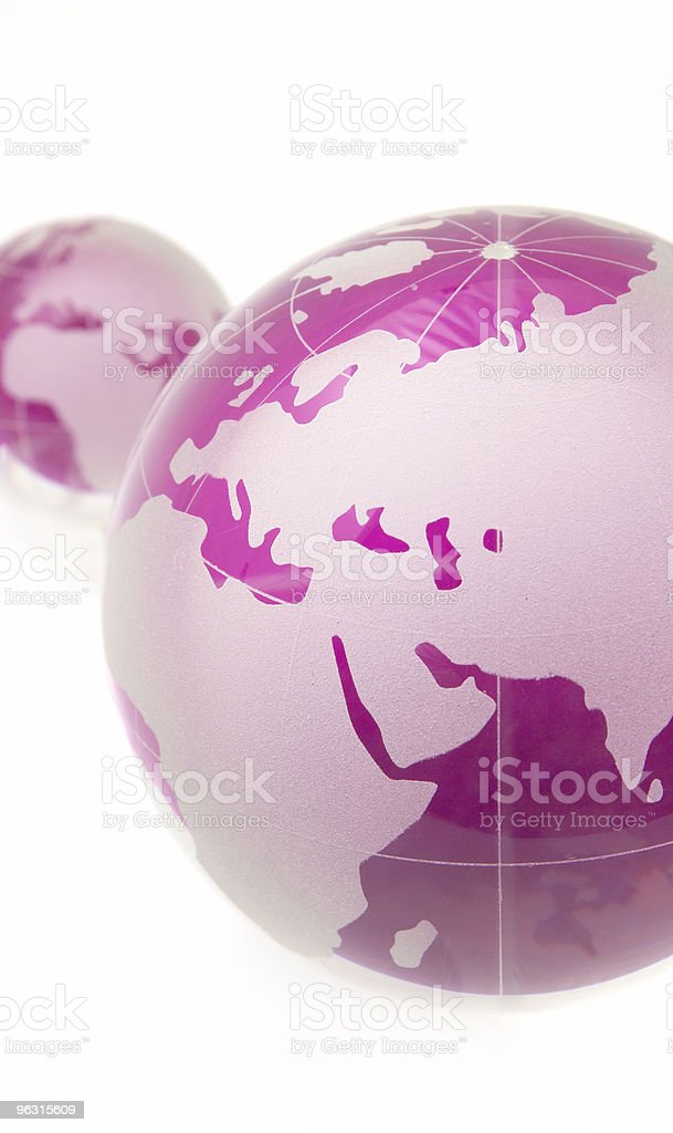 Glass Globe royalty-free stock photo
