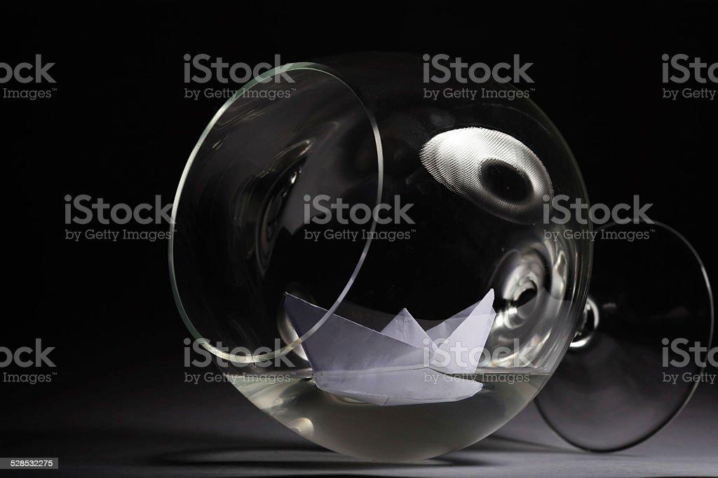glass goblet freedom drunkenness stock photo