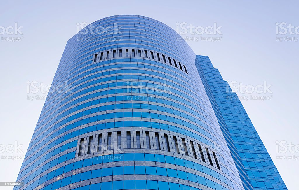 Glass Highrise Building royalty-free stock photo