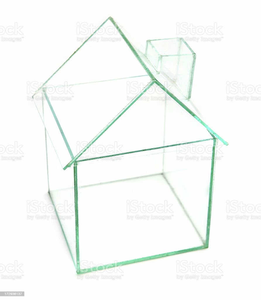 Glass House royalty-free stock photo