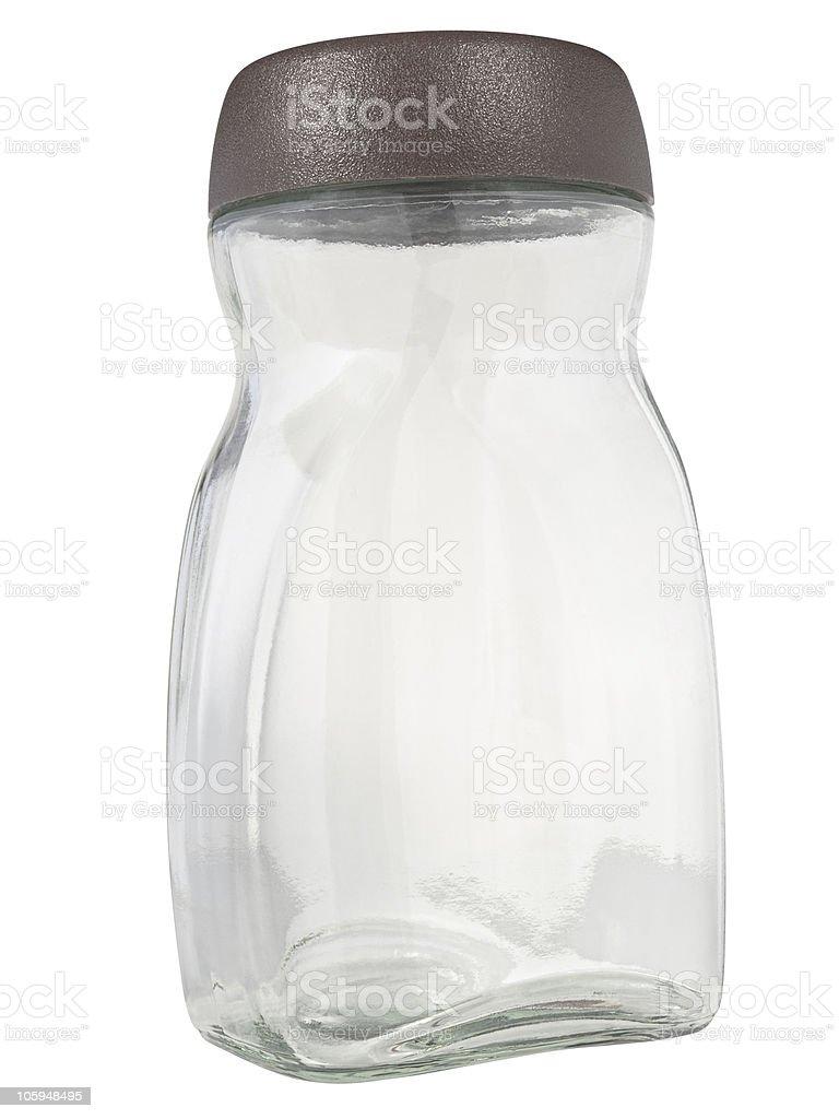 Glass jar royalty-free stock photo