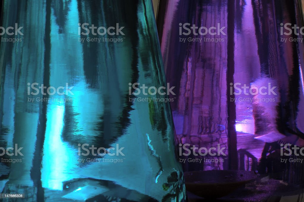 Glass lamp background stock photo
