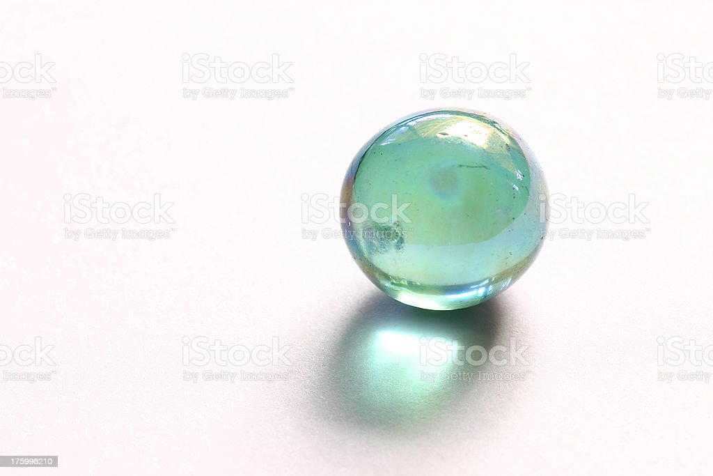 Glass Marble royalty-free stock photo