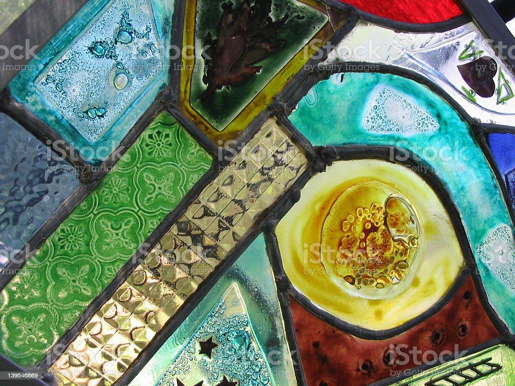 Glass Mosaic royalty-free stock photo