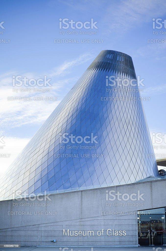 Glass Museum in Tacoma, WA stock photo