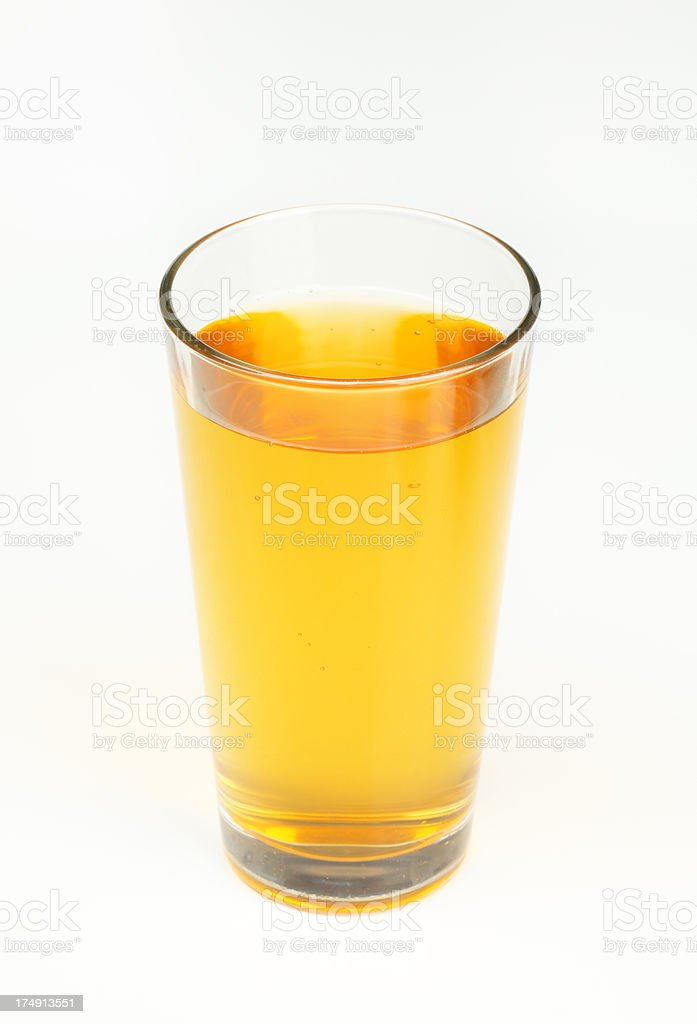 glass of apple juice royalty-free stock photo