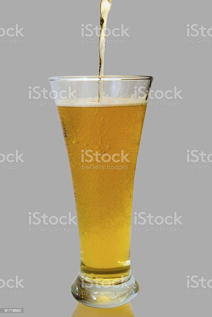 Verre de bière photo libre de droits