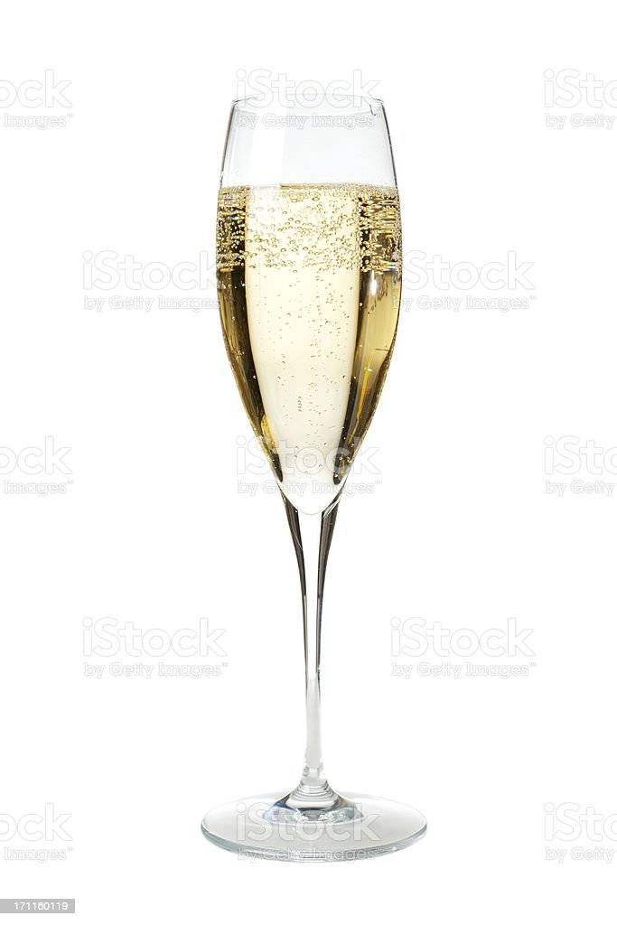 Glass of Champagne royalty-free stock photo