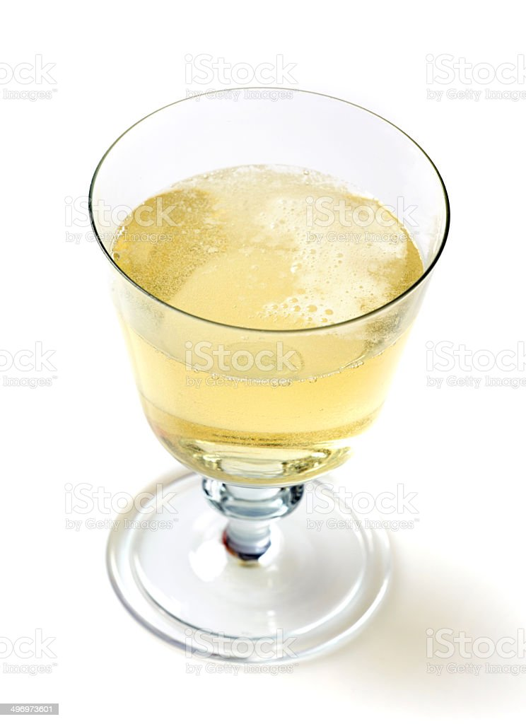 Glass of cider royalty-free stock photo