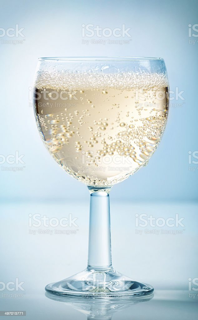 Glass of cider stock photo
