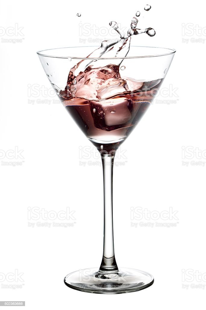 glass of cocktail stock photo