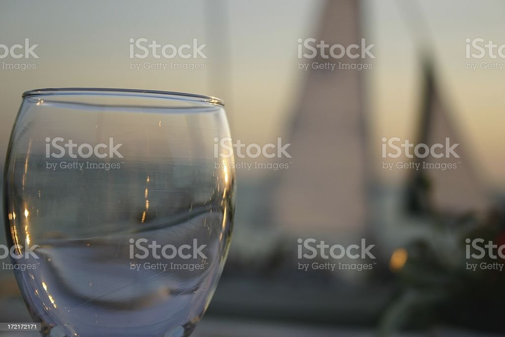 glass of dreams stock photo
