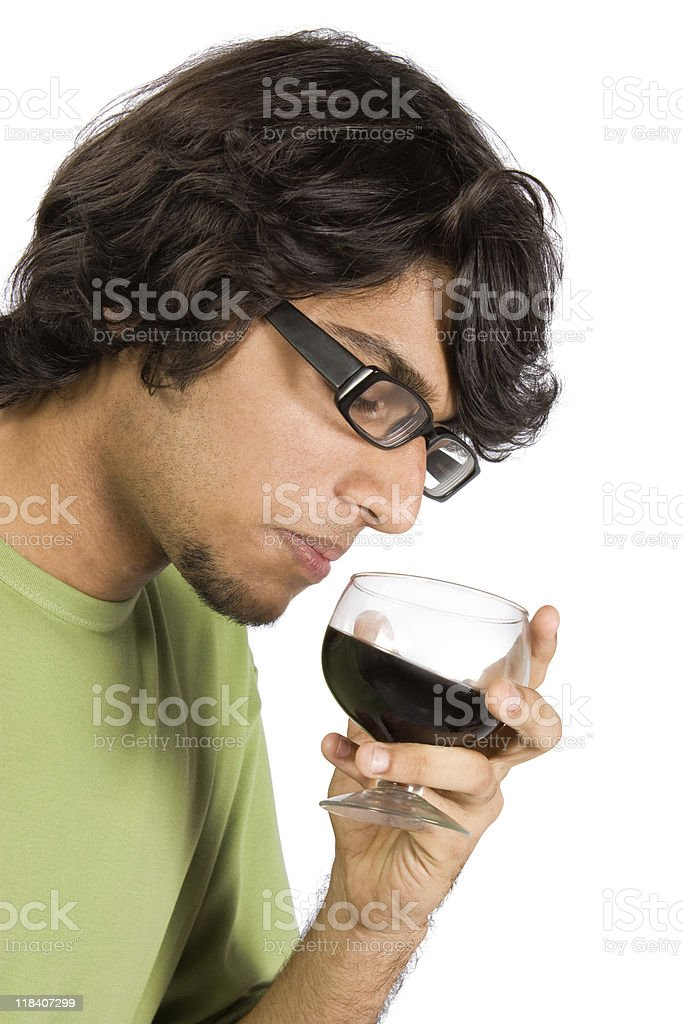 Glass of drink stock photo
