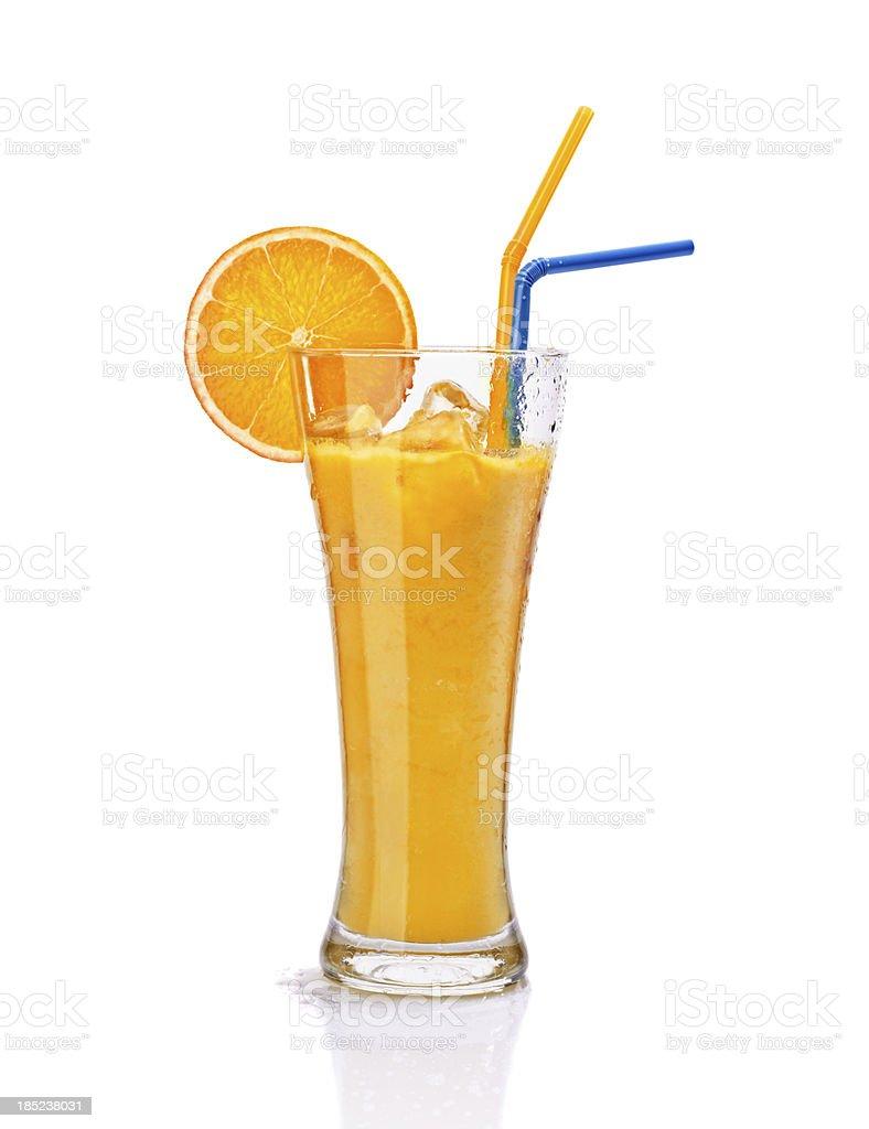 glass of fresh orange juice stock photo