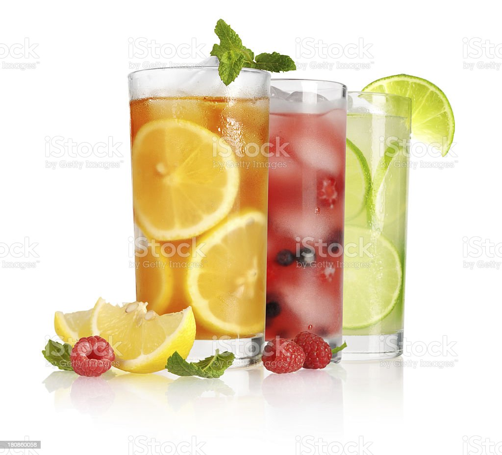 glass of ice tea royalty-free stock photo