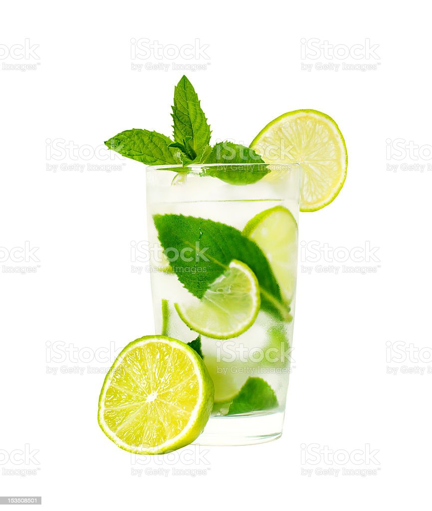 glass of limonade royalty-free stock photo