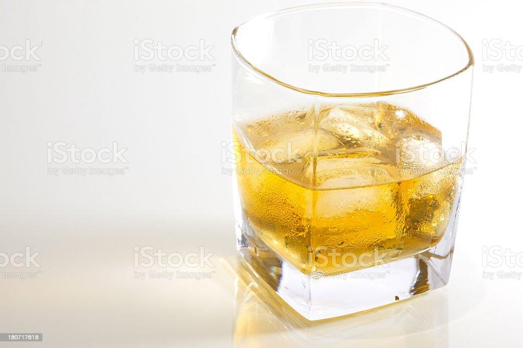 Glass of Malt Scotch Whisky. royalty-free stock photo