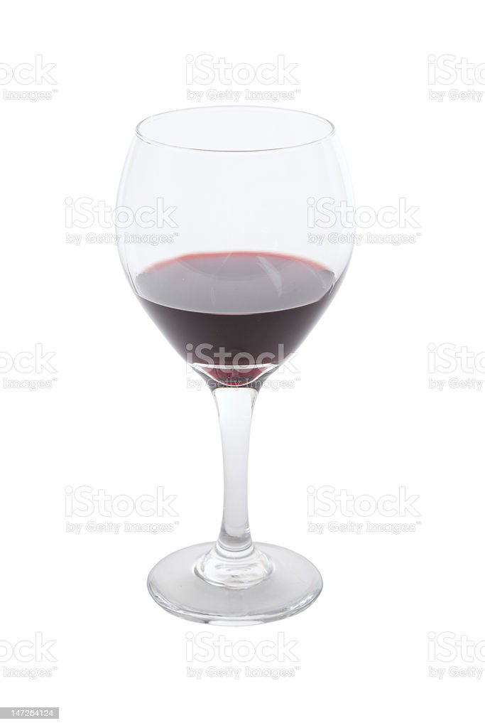 Glass of Port royalty-free stock photo