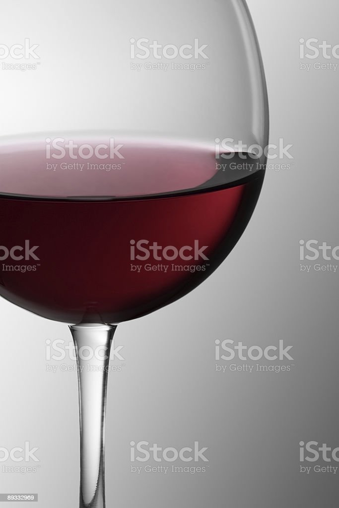 Glass of Red Wine 1 royalty-free stock photo