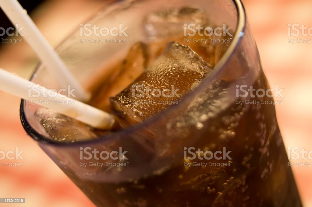 Glass of Soda royalty-free stock photo