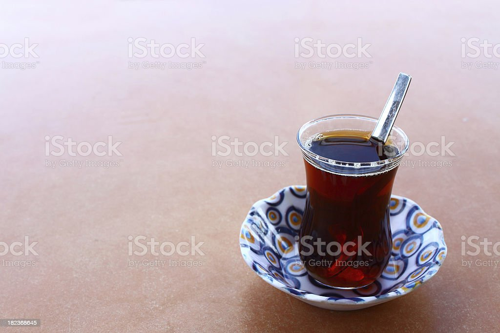 Glass of tea royalty-free stock photo