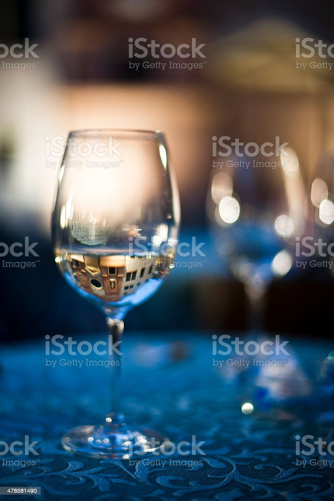 glass of vine stock photo